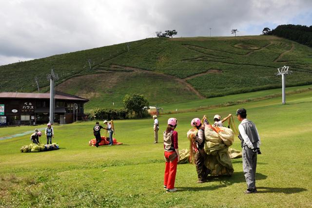 神鍋高原パラグライダーイメージ